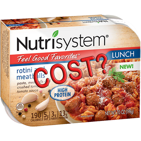 How much does Nutrisystem cost?