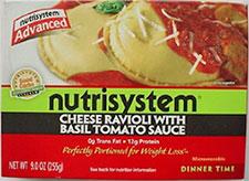 Nutrisystem Review - Dinner Meal